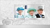 Australia - Queen's Birthday - Mint souvenir sheet