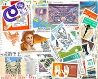 Mexico - 100 forskellige postfriske frimærker