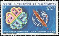Nlle Calédonie PA229 * comm. Ann. mondiale communications