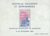 Nlle Calédonie BF6 *Ausipex'84