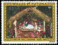 Wallis PA113 * 180 fr Noël 1981