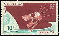Wallis PA026 * 10 fr. Satelite D1 1966