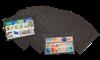 100 Cartes de classement A6 -14,8 x 10,5 cm - avec  3 bandes, de Leuchtturm