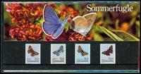 Danimarca - Farfalle - Souvenir folder
