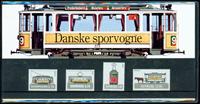 Danmark - Danske Sporvogne. Souvenirmappe