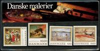 Danmark - Danske malerier. Souvenirmappe 1988
