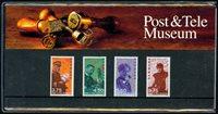 Danmark - Post og Tele Museum 1998. Souvenirmappe