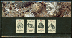 Danmark - Fossiler - Souvenirmappe