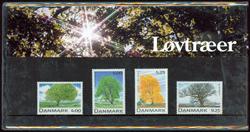 Danmark - Løvtræer. Souvenirmappe