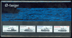 Danmark - Ø-færger. Souvenirmappe