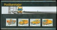 Danemark - Présentation souvenir - Véhicules postaux
