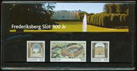 Danmark - Frederiksberg Slot 300 år. Souvenirmappe