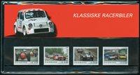 Danmark - Klassiske Racerbiler. Souvenirmappe