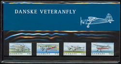 Danmark - 100-året for Ellehammers første flyvning. Souvenirmappe.