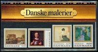 Danmark - Danske Malerier. Souvenirmappe