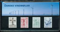Danmark - Vindmøller. Souvenirmappe