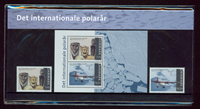 Danmark - Det internationale polar år. Souvenirmappe