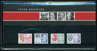 Danmark - Store Danskere. Souvenirmappe.