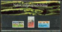 Danmark - Natur, miljø og udvikling. Souvenirmappe