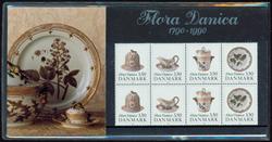 Danmark - Flora Danica. Souvenirmappe 1990
