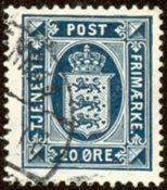 Danmark 1920 -  AFA 17(Tj) - Tjenestefrimærke