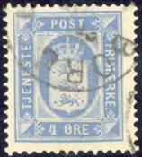 Danmark 1875 - AFA nr. 5a(Tj) - Tjenestemærke