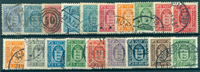 Danmark - Tjeneste - 1875-1923