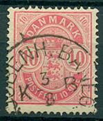 Danmark - 1886