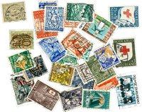 Holland - 27 forskellige stemplede frimærker
