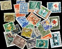 Nederland - 27 verschillende gestempelde postzegels