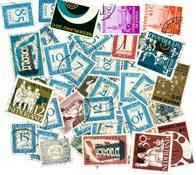 Pays-Bas - 46 timbres différents oblitérés