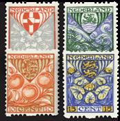 Holland 1926 - NVPH R74-R77 - Stemplet