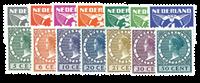 Holland 1930 - NVPH R57-R70 - Stemplet