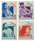 Holland 1931 - NVPH R90-R93 - Stemplet