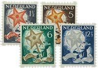 Holland 1933 - NVPH R98-R101 - Stemplet