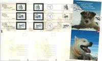 Grønland - Slædehunde - Souvenirmappe