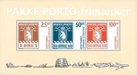 Grønland - Pakkeporto - Postfrisk miniark