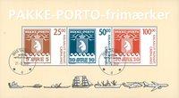 Grønland - Pakkeporto - Stemplet miniark