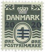 Færøerne - AFA 2B - Provisorier