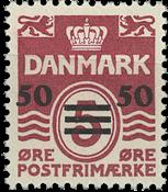 Færøerne Provisorier. AFA 5A