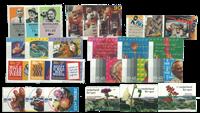 Nederland - Zomerzegels (ouderenzegels) 1993-2001 postfris, compleet