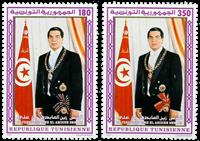 Tunesien -  YT  1218-19 - Postfrisk