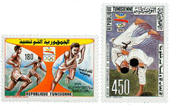 Tunesien -  YT  1180-81 - Postfrisk