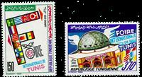 Tunesien -  YT  1133-34 - Postfrisk