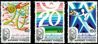 Tunesia -  YT  823-25 - Mint