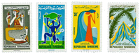 Tunesia -  YT  596-99 - Mint