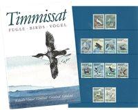 Grønland - Fugle - Souvenirmappe