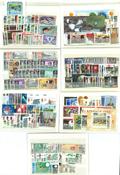 Cartes avec timbres neufs - Grande Bretagne, Irlande, Gibraltar, Malte, Ile de Man, Guernesey,Jersey