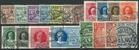 Vatikanet 1929-33 - AFA nr. 26-40 + 42-45