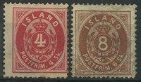 Island 1873 - AFA 2-3 - Ubrugt